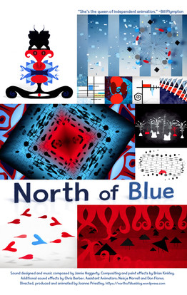 North of Blue Poster