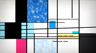 North of Blue - grid
