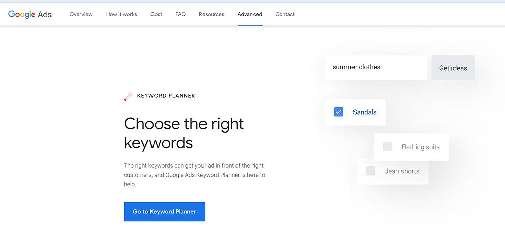 Googlekeywordplanner,googleadword,researchtool,semrush