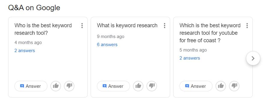 Q&A on Google ,seokhazana