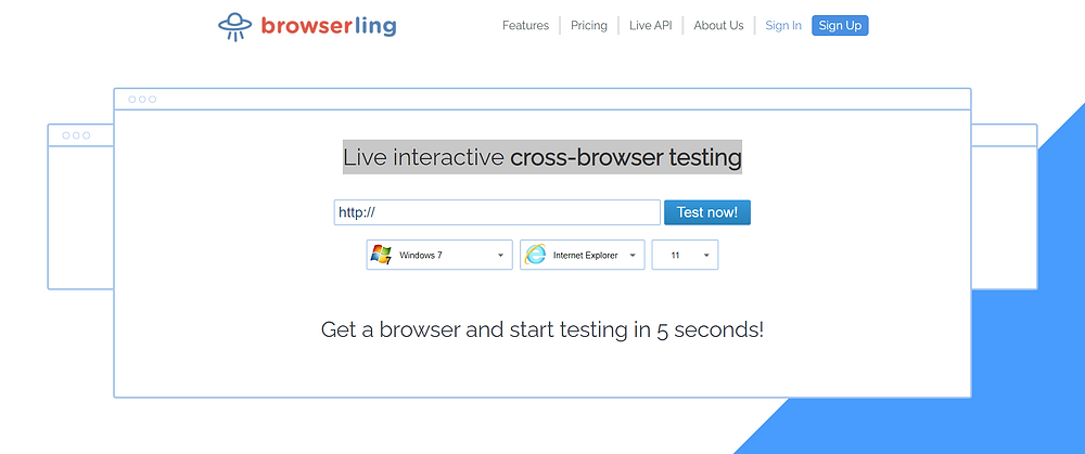 Live interactive cross-browser testing By Browserling