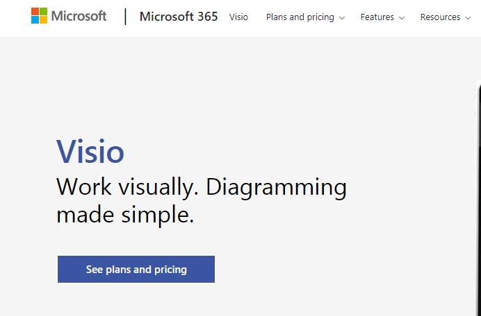 Microsoft Viso wireframing