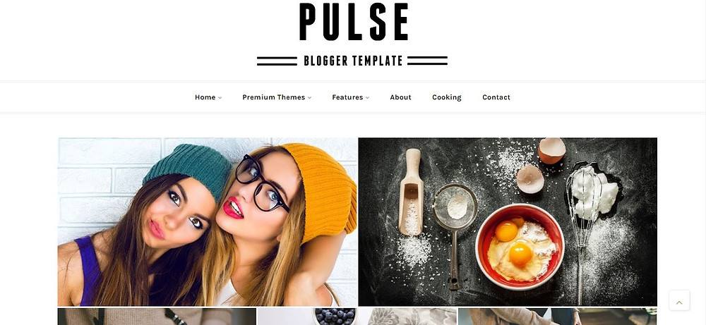 Responsive Blogger Template by pulse