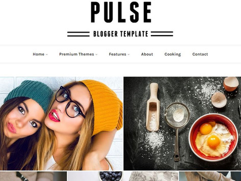 25+ Free responsive gallery style blogger templates 2020 (Updated)