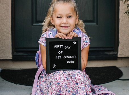 Creative Ways to Capture the First Day of School