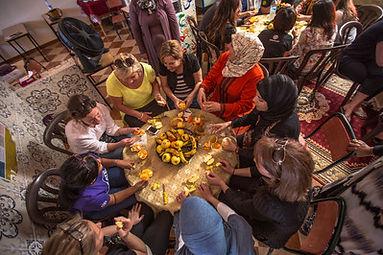 Morocco Meknes Women_s Lunch.jpg