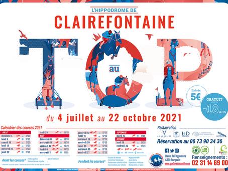 EN 2021, Le TOP des courses Hippiques est à Clairefontaine !
