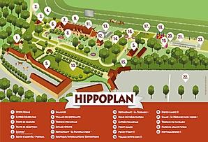 Plan Hippodrome de Clairefontaine