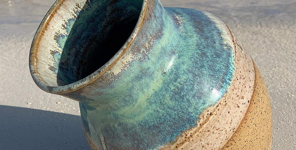 Sea shore vase