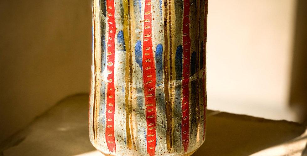Junkanoo stripe vase