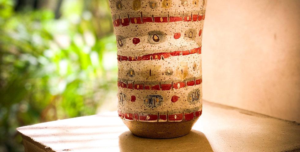 Junkanoo spots vase