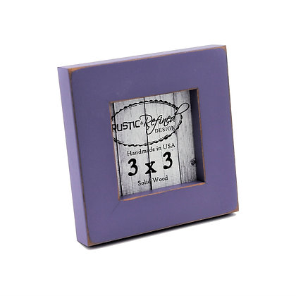 """3x3 1"""" Gallery Picture Frame - Purple"""