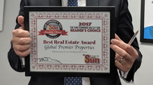 "Global Premier voted ""Best Real Estate"""