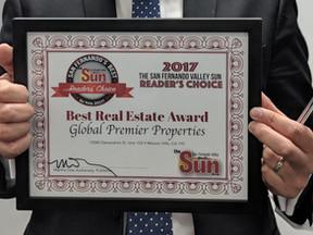 """Global Premier voted """"Best Real Estate"""""""
