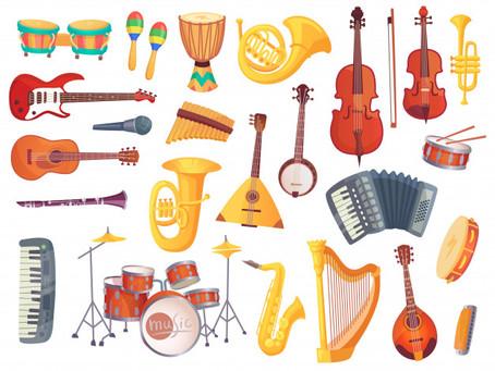 ¡INSTRUMENTOS MUSICALES!