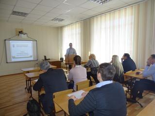 Эксперт ЦОК Сидоренко Руслан Николаевич  принял участие в обсуждении создания Учебно-производственно