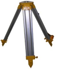 J-1A, alumīnija trijkājis, h=107-170cm, plakana galva