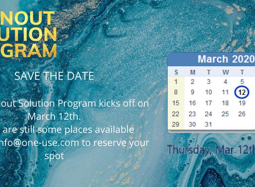 Our Burnout Soution Program Begins on March 12th