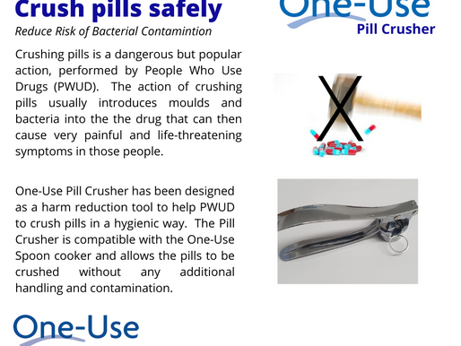 Crushing Pills Needs a Harm Reduction Approach