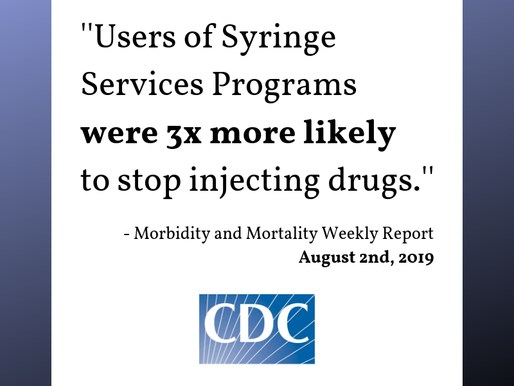 Syringe Programs are a Gateway to Recovery for many PWID