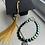 Thumbnail: Electroplated Hematite Hearts Graduation Bracelet