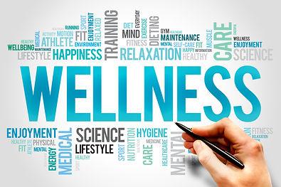 WELLNESS word cloud, fitness, sport, hea