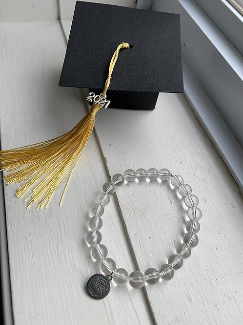 Graduation 2021 Bracelet Clear Quartz