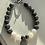 Thumbnail: Labradorite, Lava Stone & Hematite Graduation Bracelet