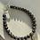 Thumbnail: Blue & Gold Bead Graduation Bracelet