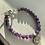 Thumbnail: Amethyst Graduation Bracelet