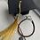 Thumbnail: Brown Electroplated Druzy Graduation Bracelet