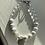 Thumbnail: Graduation 2021 Bracelet  Howlite & Clear Quartz