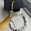 Thumbnail: Howlite & Clear Quartz Graduation Bracelet