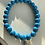 Thumbnail: Blue Howlite Graduation Bracelet