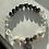 Thumbnail: Hematite, Clear Quartz, Smoky Quartz, Agate Graduation Bracelet