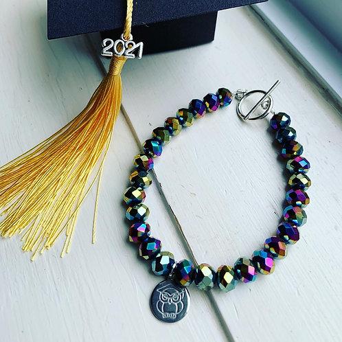 Electroplated Druze Graduation 2021 Bracelet