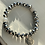 Thumbnail: Silver Electroplated Druzy Graduation Bracelet
