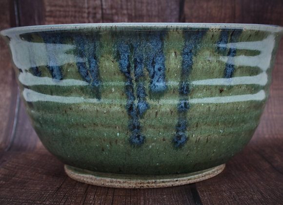 XL Green and Blue Bowl