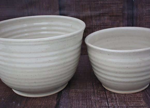 2 Bowl Set Cream