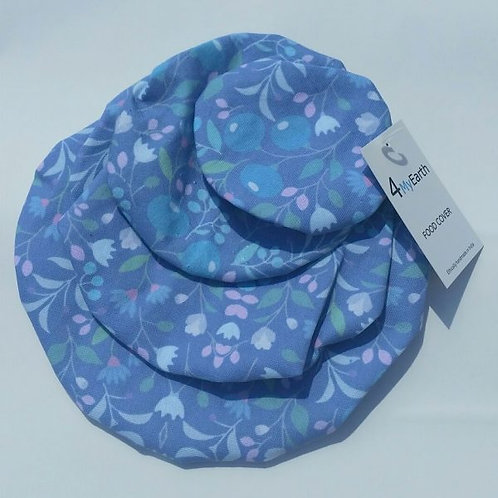 Food Cover Set (Spring in Blue)