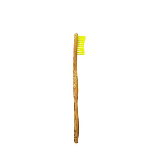 Bamkiki Bamboo Toothbrush, Kids (5-10 years old) - Lil' Limon