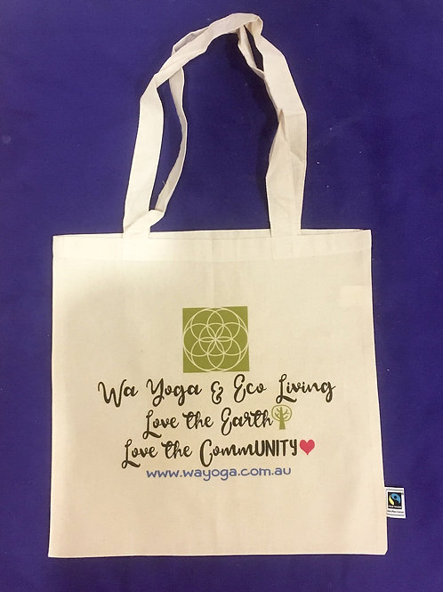 Organic Cotton & Fair Trade Shopping Bag