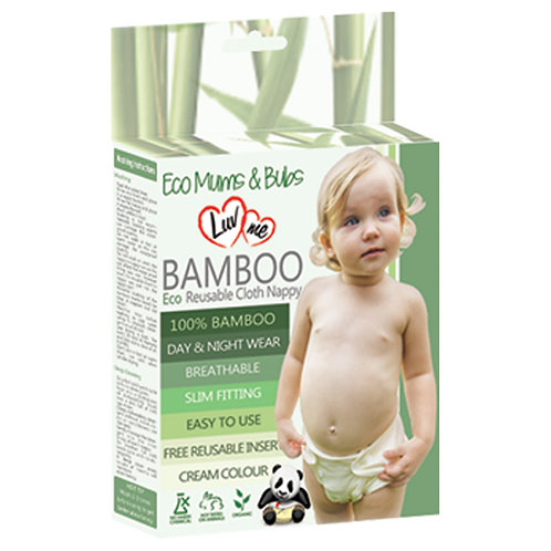 Luv Me Eco Bamboo Cloth Nappies
