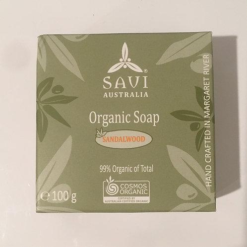 Savi Organics - Organic Soap Sandalwood