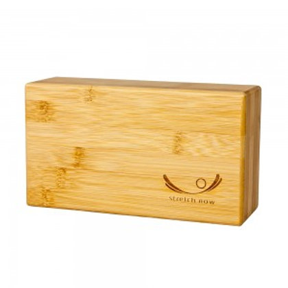 Stretch Now Bamboo Yoga Block