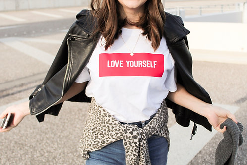 LOVE YOURSELF T-Shirt Weiß