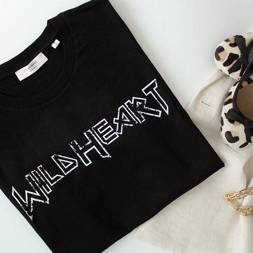 WILD HEART T-Shirt Schwarz