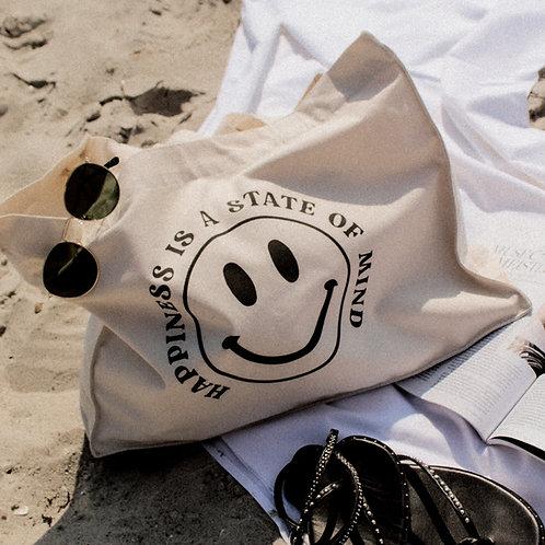 HAPPINESS Beach Bag