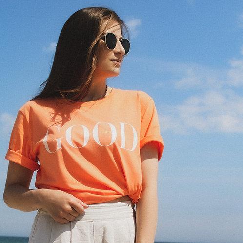 GOOD VIBES T-Shirt Melon Orange