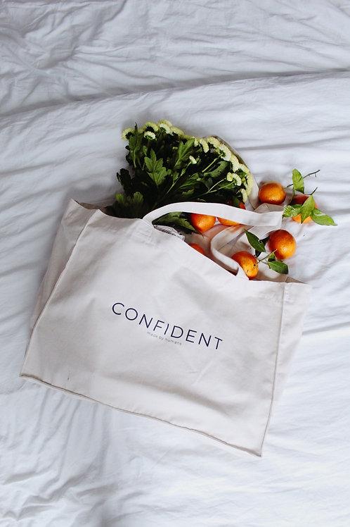 CONFIDENT Canvas Shopper